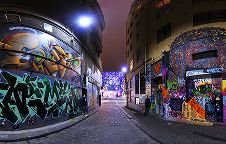 Hosier Lane, Melbourne - Visite virtuelle