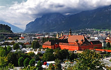 Highway viewpoint, Innsbruck - Panorama 360°