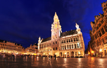Grand-Place at night, Brussels - Visite virtuelle