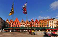 Grote Markt - Grand-Place, Brugge - Virtual tour