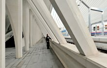 Liege TGV Train Station, Santiago Calatrava - Visite virtuelle