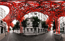 The Sequence, Arne Quinze, Brussels - Visite virtuelle