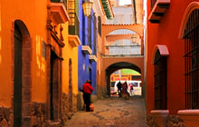 Calle Jaen colonial street, La Paz - Virtual tour
