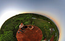 Moonrise in Pantanal, Corumba - Puerto Quijarro - Virtual tour