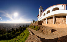 Cerro de Monserrate, Bogota - Virtual tour