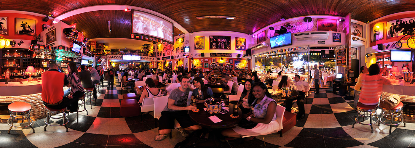 Noche de Rock, El Faro Pizzeria - Virtual tour