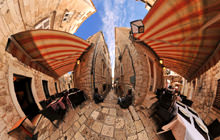 Small street in Old Town, Dubrovnik - Virtual tour