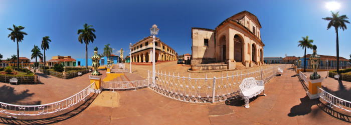 Plaza Mayor, Trinidad - Virtual tour