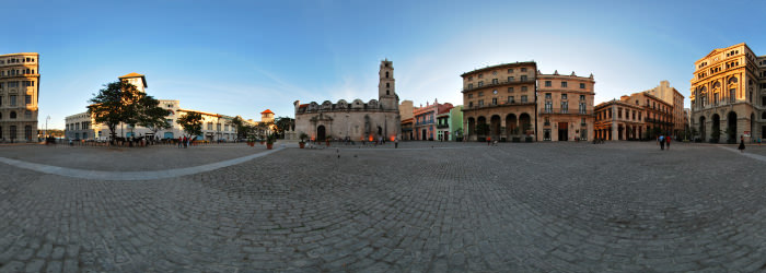 Plaza San Francisco, La Havana - Virtual tour