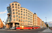 Dancing house, by Frank Gehry, Prague - Virtual tour