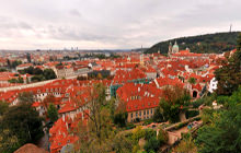 View from Prague Castle, Praha - Virtual tour