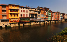 Agout River, Castres, Tarn - Virtual tour