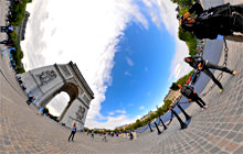Arc de Triomphe, Paris - Panorama 360°