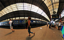Gare Saint-Jean, Bordeaux - Panorama 360°