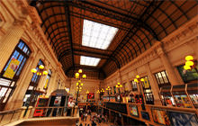 Hall de la Gare Saint-Jean, Bordeaux - Virtual tour