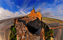 Le Mont-Saint-Michel, Basse-Normandie - Virtual tour