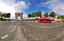 Les Champs-Elysees, Paris - Panorama 360°
