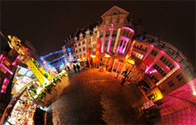 Marche de Noel, Mulhouse, Alsace - Virtual tour