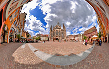 Place de la Reunion, Mulhouse - Virtual tour