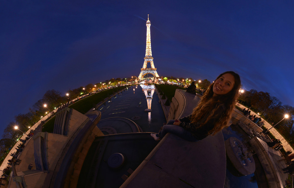 Tour Eiffel, Trocadero, Paris - Virtual tour
