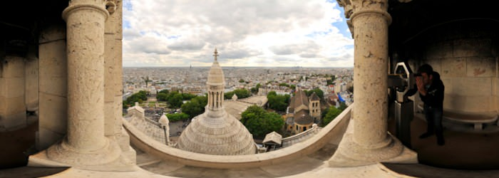 Basilique du Sacre-Coeur, Montmartre, Paris - Virtual tour