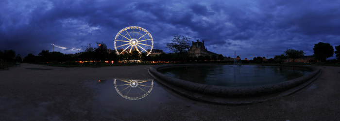 La Grande Roue, Tuileries, Paris - Panorama 360°