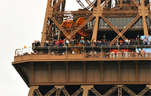 Eiffel Tower - 370 megapixels, Paris - Virtual tour