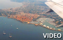 Rome to Nice in 3 minutes, Airplane - Virtual tour
