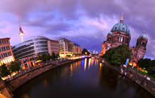 Bodestrasse Bridge, Berliner Dom, Berlin - Panorama 360°