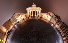 Brandenburg Gate, Brandenburger Tor, Berlin - Panorama 360°