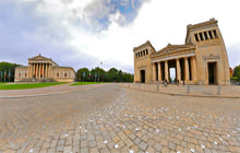 Konigsplatz & Glyptothek, Munich - Virtual tour