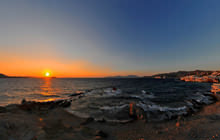 Mikri Venetia sunset, Mykonos - Virtual tour
