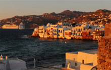 Windmills and Little Venice, Mykonos Island - Virtual tour