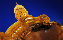 Buda Castle at night, Budapest - Visite virtuelle
