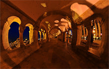 Under Fisherman's Bastion, Budapest - Visite virtuelle