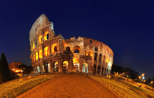 Colosseo di notte, Roma, Colosseum, Rome - Virtual tour