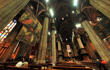 Inside the Cathedral, Duomo di Milano - Virtual tour