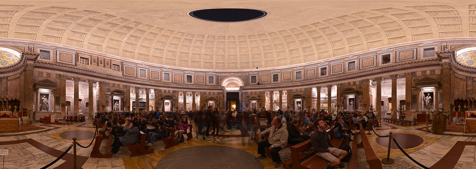 Inside Pantheon, Roma - Virtual tour