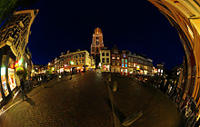 St. Martin Cathedral, Domkerk, Utrecht - Panorama 360°
