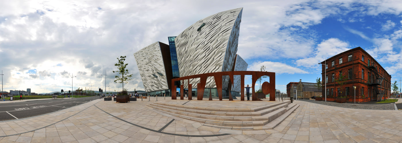 Titanic Belfast, Queen Island, Belfast - Virtual tour