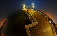 The Sopot Wooden Pier, Sopot, Tricity - Panorama 360°