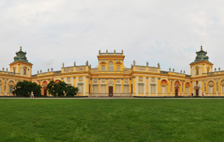 Wilanow Palace, Warsaw - Visite virtuelle