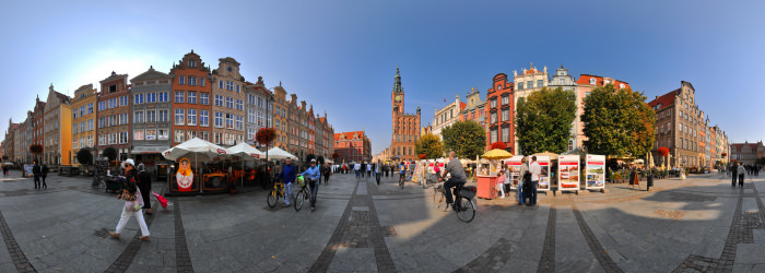 Town Hall spire, Gdansk - Virtual tour