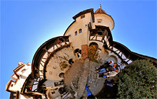 Vlad Tepes - Dracula, Bran Castle - Panorama 360°