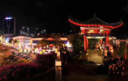 Garden Bridge, Chinatown - Virtual tour