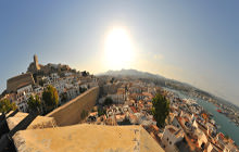 Castle and the Port, Dalt Vila, Ibiza - Virtual tour