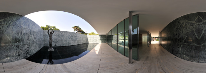 Ludwig Mies van der Rohe, Barcelona - Visite virtuelle