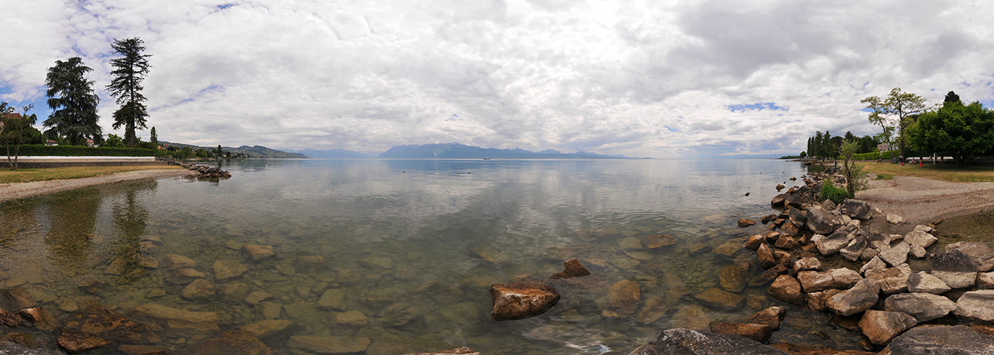 Rives du Lac, Pully, Lausanne - Panorama 360°