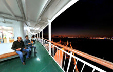 Europe to Asia Ferry, Sirkeci Harem, Istanbul - Panorama 360°