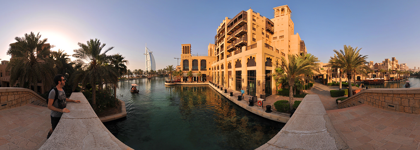 Burj Al Arab - Dubai, Madinat Jumeirah - Virtual tour